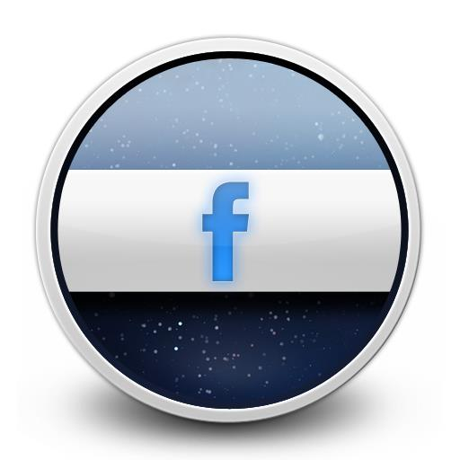 Glow for FB icon