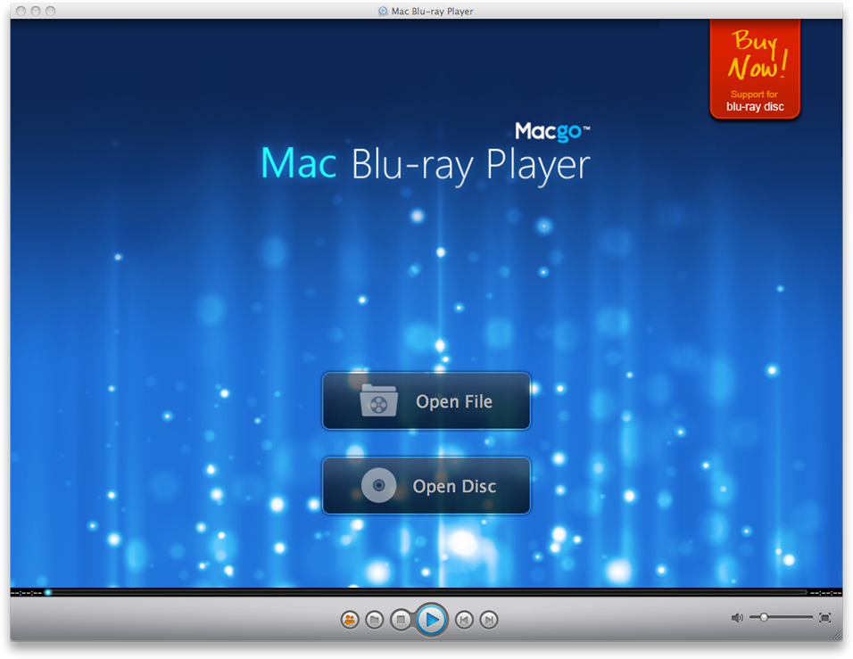 Mac Bluray Player icon