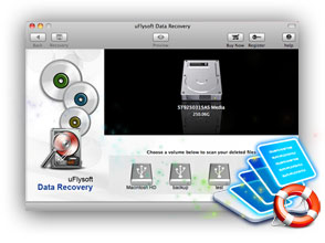 uFlysoft Data Recovery for Mac icon