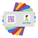 Contacts to QR Codes icon