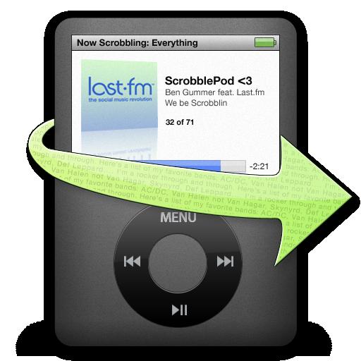 ScrobblePod icon