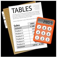 Tables icon