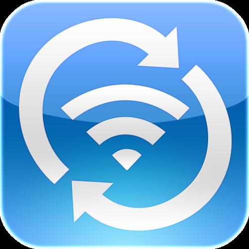 Wi-Fi Sync icon